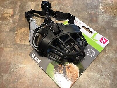 Rosewood Soft Basket Muzzle Size 2 For Small Medium Dogs