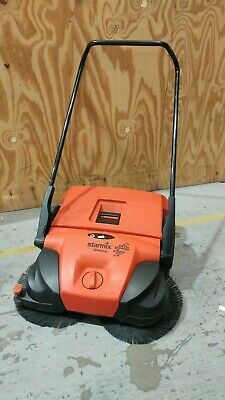 Used Electric Sweeper Starmix iSweep 677