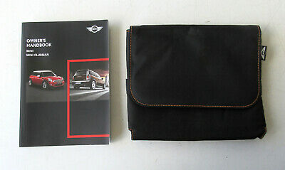 Genuine MINI Owners Handbook Case / Wallet / Book Pack for R56 / R55 Clubman #2