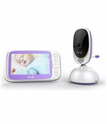 """BT Video Baby Monitor 6000 with 5"""" Colour Screen 5 Lullabies"""