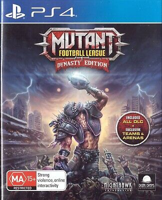 Mutant Football League - Dynasty Edition Sony Playstation 4 PS4 18+ Game