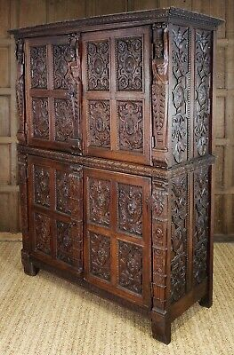 A magnificent French Renaissance cupboard.