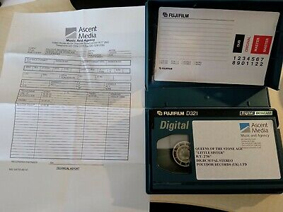 """RARE Queens on the stoneage """"Little sister"""" Music Broadcast tape BetacamSP"""