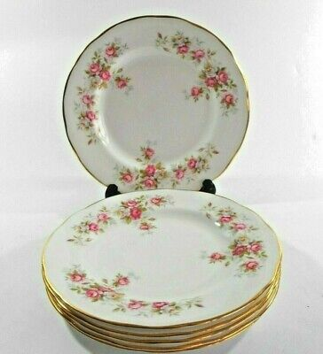 Duchess June Bouquet Roses Side Plate Bone China Made In England Floral Vintage