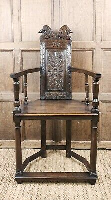 A rare late 16th Century Caqueteuse chair