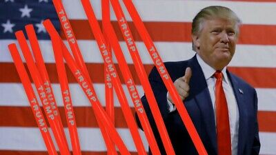 Official Trump MAGA Reusable Straws - Pack of (10) - presale Last 2 Available!!!