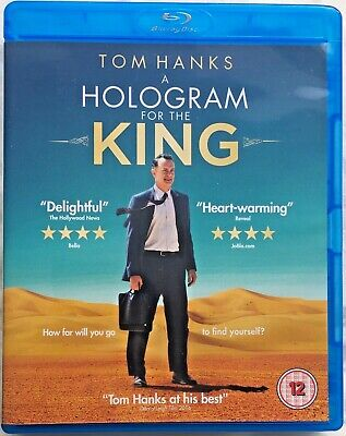 A Hologram For The King - Light-hearted comedy-drama starring Tom Hanks (Blu-ray