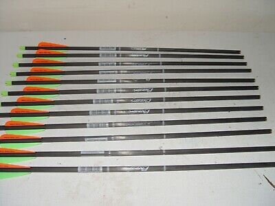 """1 DOZ. NEW Parker 20"""" Crossbow Arrows Bolts With Capture Nocks"""