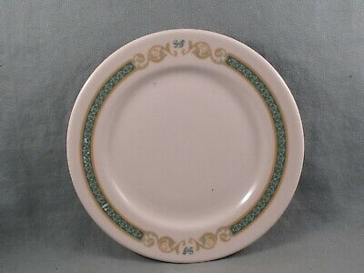 "1934 ""ST. FRANCIS HOTEL"" San Francisco California Bread Plate,Syracuse China"