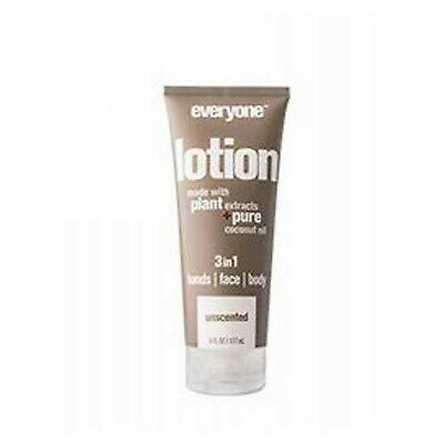 Everyone 3-in-1 Lotion, Unscented, 6 oz Each (Pack of 2)