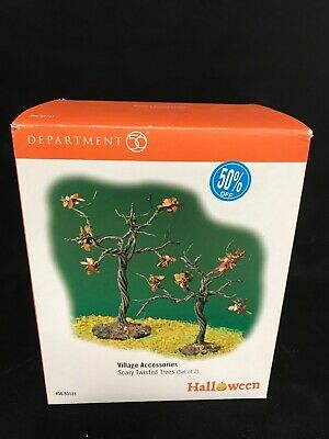 Dept 56 Scary Twisted Trees Halloween Village Accessories New Retired  #56.53131