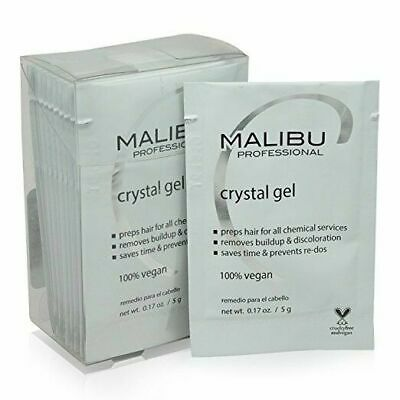 Malibu C -- Crystal Gel Professional Normalizer - Pack of 12 (5g/each)