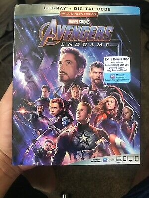 Avengers: Endgame brand New! Unused. Free Shipping. Blu ray and digital.