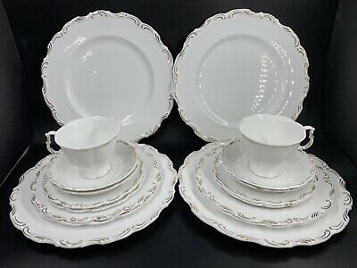 Royal Albert Orleans 5 Piece Plate Setting for 4 Bone China England 20 pieces
