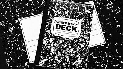 Limited Edition Composition Deck Playing Cards - Magic Tricks