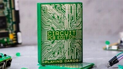 Circuit (PCB) Playing Cards by Elephant Playing Cards - Magic Tricks