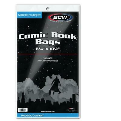 300 Bcw Current Modern Age Comic Book Bags And Boards