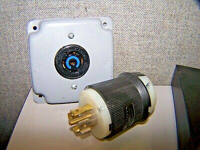 Hubbell Receptacle # HBL7409C USED WARRANTY
