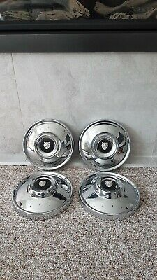"Jaguar xj6 series 1 9"" dog dish wheel covers"