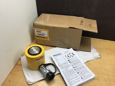 Enerpac RCS-201 Single-Acting Low-Height Hydraulic Cylinder with 20 Ton Capacity