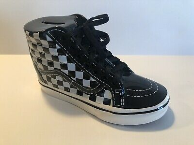 Vans Off The Wall Family Sk8-Hi Checkers Piggy Bank