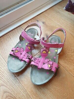 Clarks Girls Sandals Size 13F
