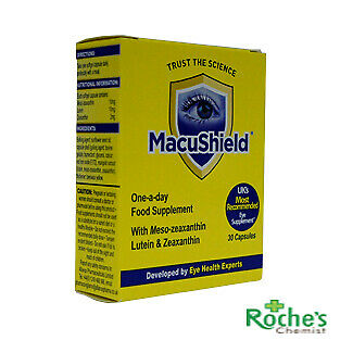 Macushield 30's forAge Related Macular Degeneration