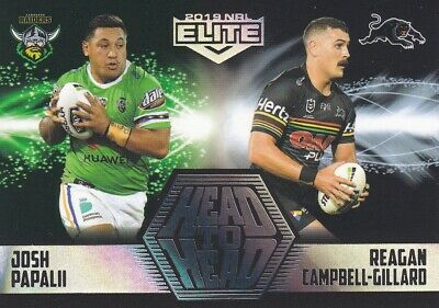 2019 NRL ELITE HEAD TO HEAD - HH2 JOSH PAPALII vs CAMPBELL-GILLARD - #05 OF 61