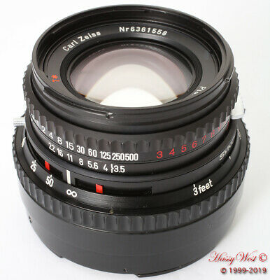 Hasselblad 100mm C T* 3.5 Carl Zeiss Planar Lens Classic Metal V Series 100/3.5