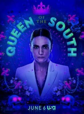 QUEEN OF THE SOUTH Sea.4 -4Dvd's13Epis. From internet,English with spanish subt.