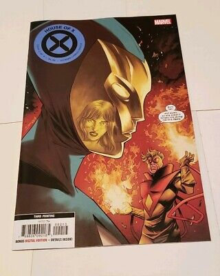 House Of X #2 3Rd Print Shalvey Variant Marvel Comics X-Men Jean Grey Wolverine