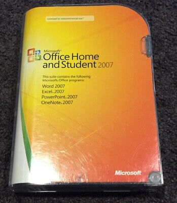 Microsoft Office Home & Student 2007 Includes Product Key
