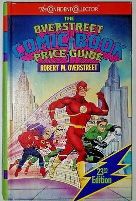 The Overstreet Comic Book Price Guide 23rd Edition The Flash Hardcover The Flash