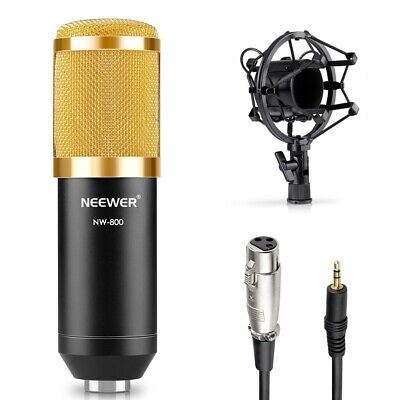Neewer Japan Condenser Microphone Set NW-800 Studio Broadcast Recording