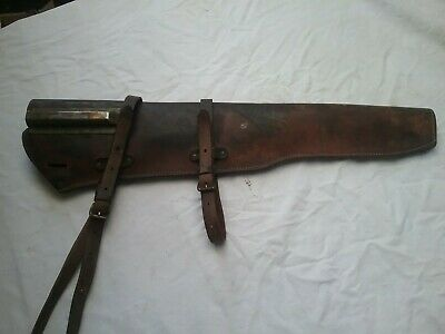 Original WW2 M1 Garand Rifle Scabbard with Straps JQMD1943 JB Trench Modified