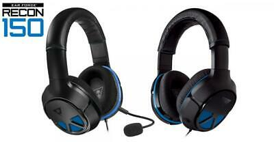 Turtle Beach Recon 150 Wired Gaming Headset for PS4 Black / Blue NEW US FAST