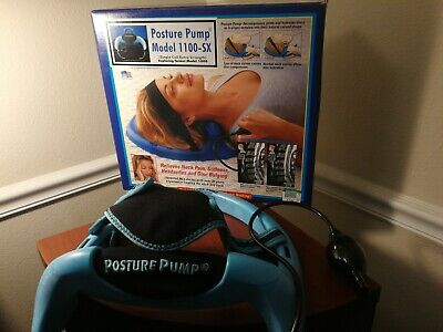 Posture Pump 1100-SX Cervical Neck Disc Hydrator Therapy Device