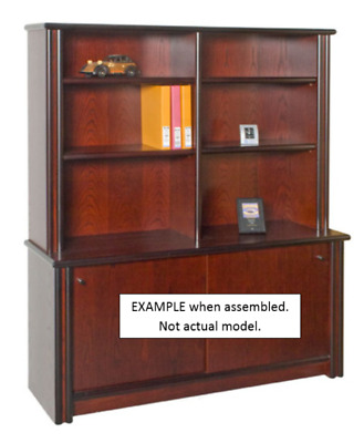 Credenza with Hutch - Long CL001