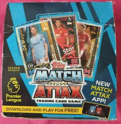 2018/19 Topps Match Attax Premiere League Trading Cards