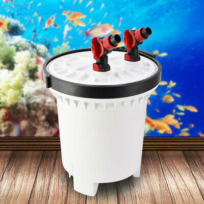 SUNSUN HW-5000 LCD Display 4-Stage External Aquarium Canister Filter