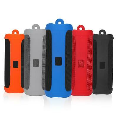 Portable Silicone Travel Case Protective Cover For JBL FLIP 5 Bluetooth Speaker