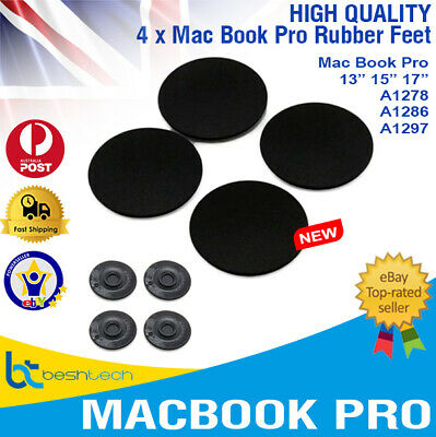 """MacBook Pro Rubber Feet Foot Pad for Laptop A1278 A1286 A1297 13""""-17"""" x 4"""