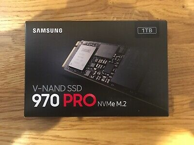 SAMSUNG 970 PRO SSD NVMe M.2 V-NAND Solid State Drive, 1TB - BRAND NEW