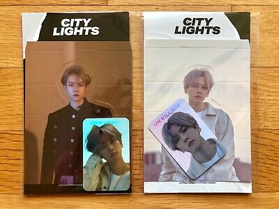BAEKHYUN SM TOWN Official Goods City Lights Hologram Photocards Day & Night Ver.