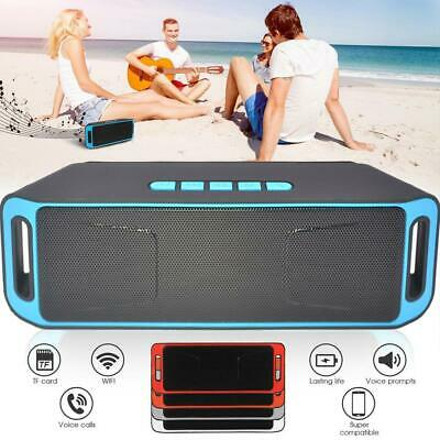 Bluetooth Rechargeable Wireless Speaker Portable Outdoor USB FM Radio Stereo Hot