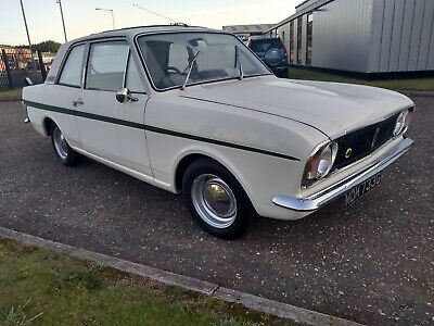 1969 Ford Cortina Lotus Mk 2 - 12 months MOT. Good Condition