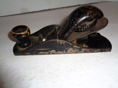 "Vintage Carpenters Wood Plane, All Steel, Made In The USA, 7"" Long VG+"