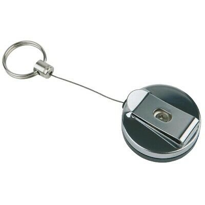 Retractable Key Ring Reel St/St - 650mm (Pack 2) APS|