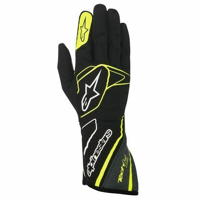 Alpinestars Tech 1-Z FIA Race Gloves Black / Anthracite / Fluro Yellow XXL