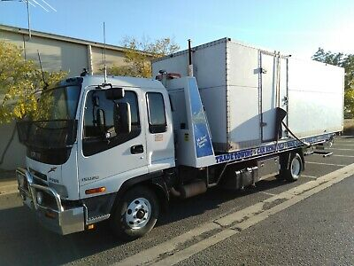 Isuzu Tilt Slide Tow Truck Ekebol Tray Only Done Maybe 20 Jobs Transporter Car